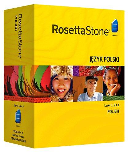 Rosetta Stone V3: Polish Level 1-3 Set with Audio Companion [OLD VERSION]