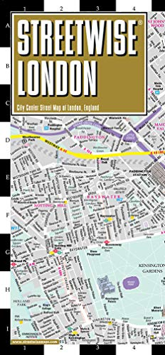 Streetwise London Map - Laminated City Center Street Map of London, England (Michelin Streetwise Maps)