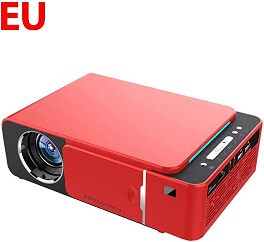 Joojun Mini proyector portátil, LED Full HD 4K 3D 1080P USB ...
