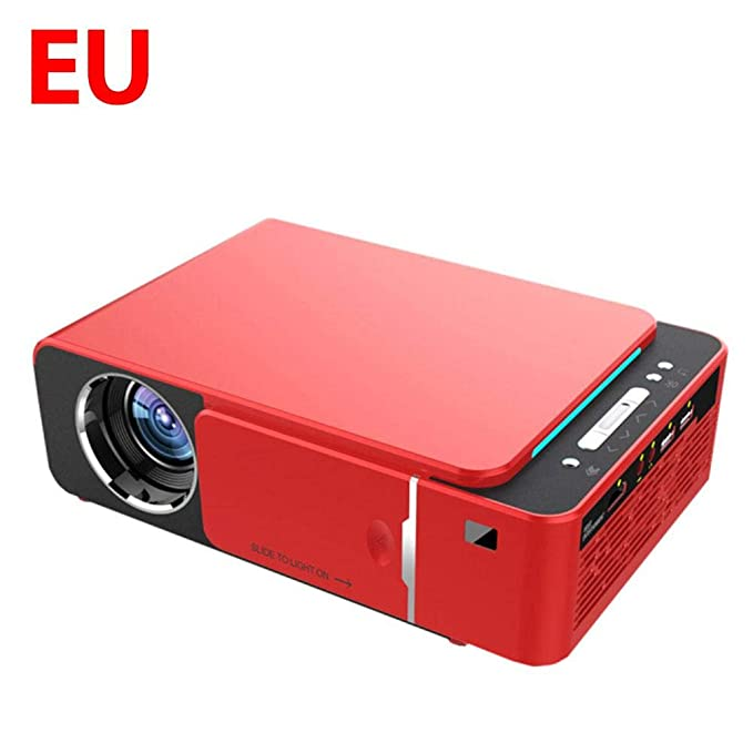 duhe189014 T6 Full HD LED Proyector 4k 3500 Lúmenes HDMI USB 1080P ...
