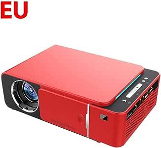 Joojun Mini proyector portátil, LED Full HD 4K 3D 1080P USB ...