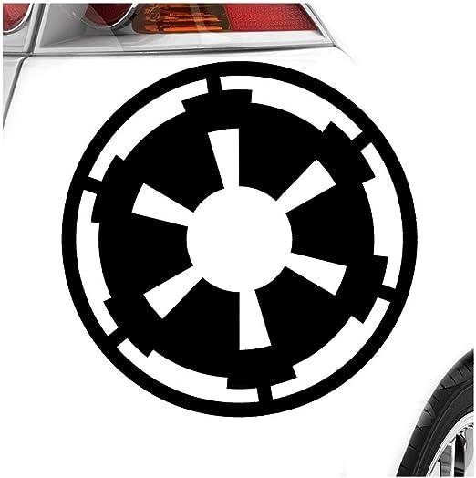Imperium 11 X 11 Cm In 15 Farben Neon Chrom Sticker Aufkleber Auto