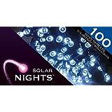 Solar Nights - Solar Fairy Lights - 100LED - White