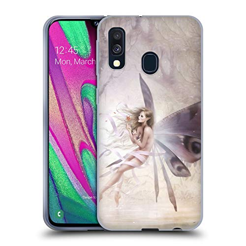 Official Mélanie Delon Amelia Fairies Soft Gel Case Compatible for Samsung Galaxy A40 (2019)
