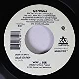 MADONNA 45 RPM You'll See / Live To Tell