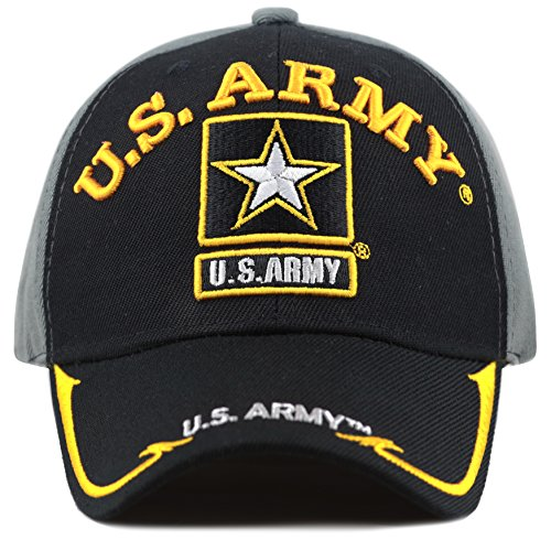 THE HAT DEPOT 1100 Military Licensed U.S. Army Logo Cap  ee7a80906aa5