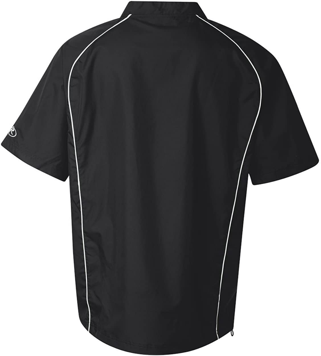 Rawlings 9702 - Short Sleeve Quarter-Zip Pullover 51QC2QXWilL