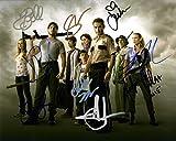#7: The Walking Dead Cast Autographed Signed 8x10 Photo Authentic COA