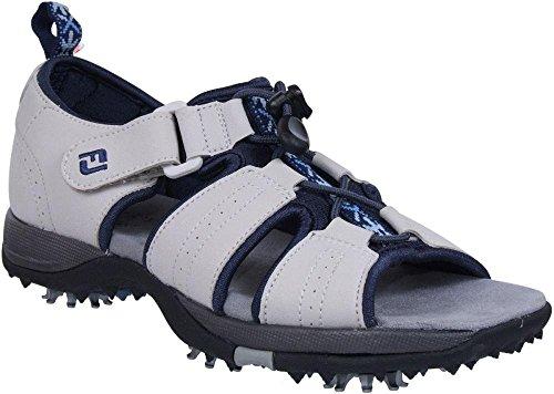 FootJoy Greenjoys Women's Sandal - 48361 Size 5 (M) Grey/Blue