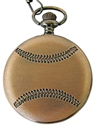 Collectible Watch Co Baseball Pocket Watch