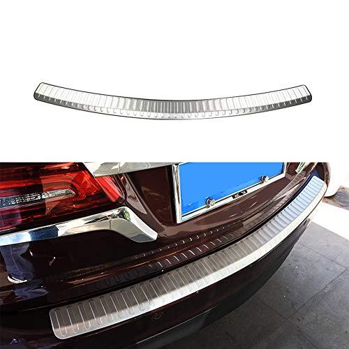 Chebay Rear Door Plate Bumper Cover Bar Sill Trim Protector Fits for Honda Acura MDX 2014-2017