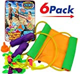 Huge Sling Water Balloon Launcher + 30 Balloons (Pack of 6) By JA-RU | Filler Included. Super Stretch | Item # 718-6