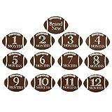 Mud Pie Football Milestone Stickers