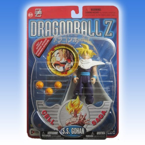 - Dragonball Z SS GOHAN Action Figure (CELL SAGA) - IRWIN TOYS
