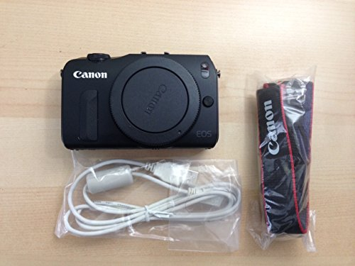 Canon EOS M Compact System Camera -Black- Body Only