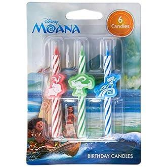 Disney Moana Birthday Candles Party Decoration