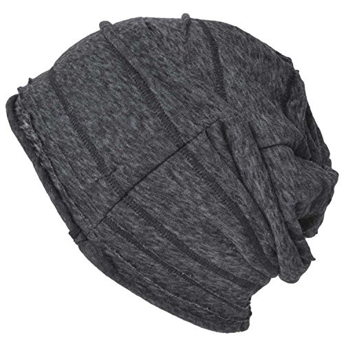 bf8b6d4084f4f Casualbox Mens Womens Baggy Slouch Beanie Viscose Hat Summer Cool Black 1