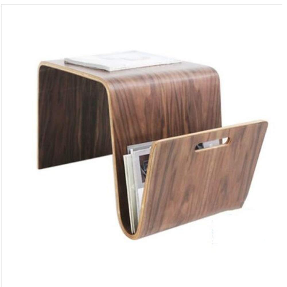 YNN ポータブルテーブル コーヒーテーブル棚リビングルームサイド/エンドテーブル収納スナックテーブル64×36×41センチ4色 (色 : B)  B B07P9CGMP1