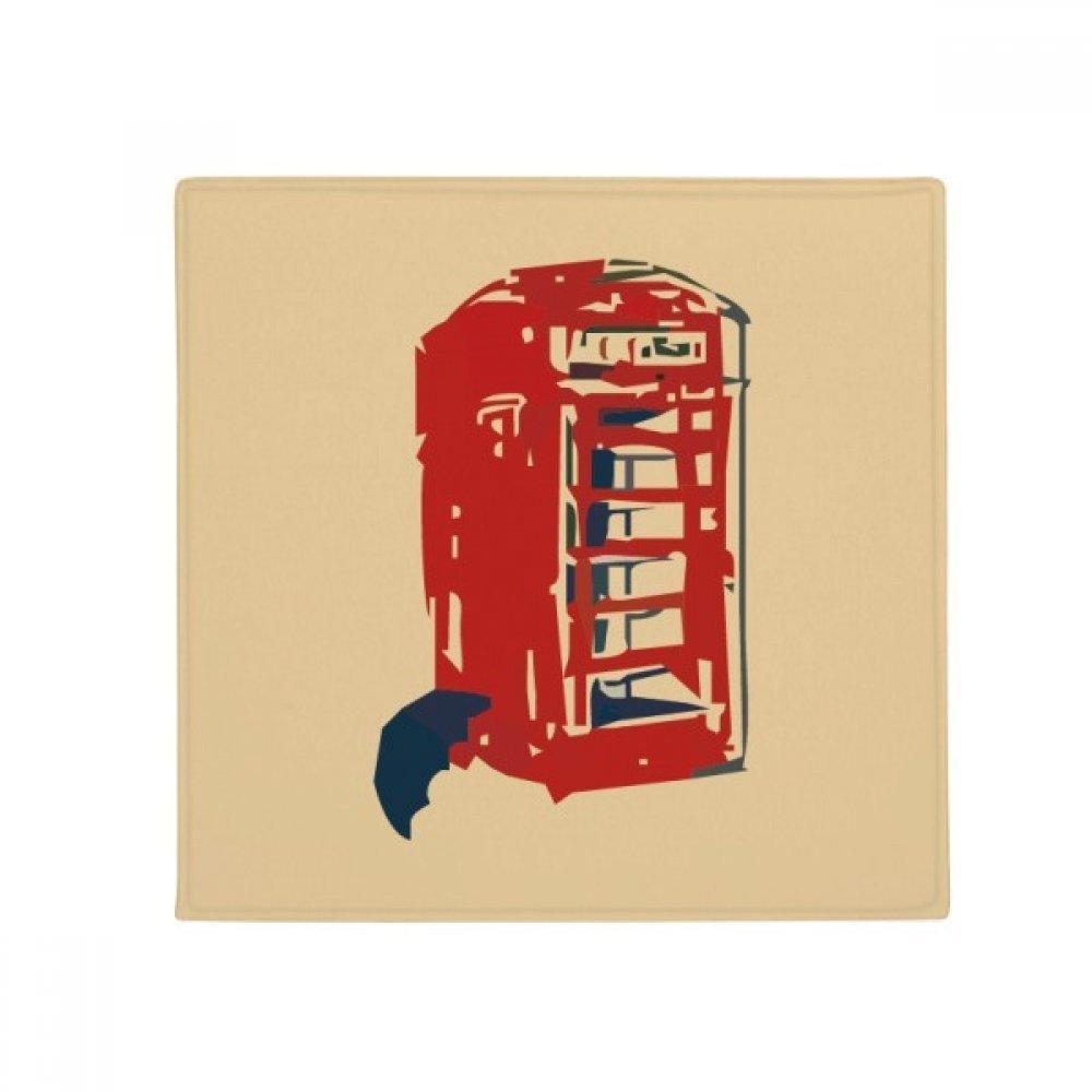 DIYthinker Telephone Booth Umbrella Rain Anti-Slip Floor Pet Mat Square Home Kitchen Door 80Cm Gift