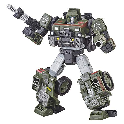 - Transformers E3537 Generations War for Cybertron: Siege Deluxe Class WFC-S9 Autobot Hound Action Figure