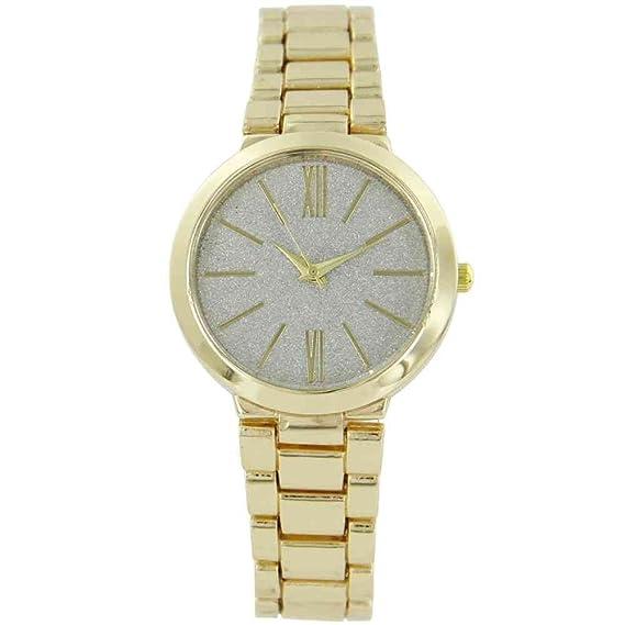 Reloj mujer acero color dorado Gorgio  Amazon.es  Relojes 2a3e6e610e84