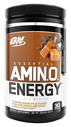 Choicest Nutrition Amino Energy, Iced Caramel Machiatto, Preworkout and Essential Amino Acids with Green Tea and Green Coffee Extract, 30 Servings