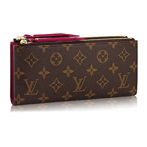Louis Vuitton Monogram Canvas Adele Wallet Fuchsia Article: M61269 Made