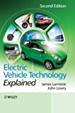 Electric Vehicle Technology Explained, John Lowry and James Larminie, 111994273X