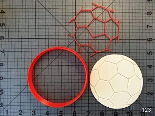 Zoomy Far: Juego de cortadores de galletas, diseño de pelota de ...