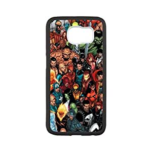 Samsung Galaxy S6 Cell Phone Case White Marvel comic fyrk