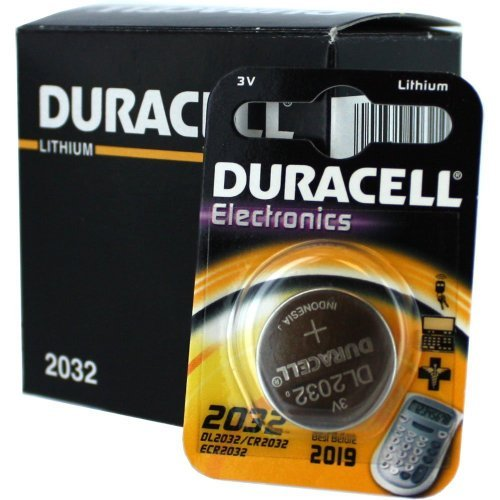 Duracell DL2032 3V Lithium Coin Cell Battery 10Pk CR2032 ECR2032 by Duracell