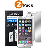 """Compatible With iPhone 8/7 Screen Protector, Insten [2 Pack] Premium Mirror Anti-Scratch LCD Screen Protector Bubble Free HD Film No Rainbow Effect Shield Guard Compatible With Apple iPhone 8/7 (4.7"""")"""