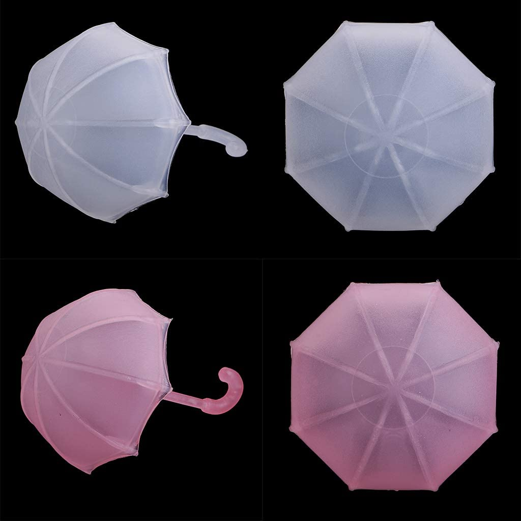 12Pcs Umbrella Shape Chocolate Candy Gift Boxes Baby Shower Party Favor Cute New