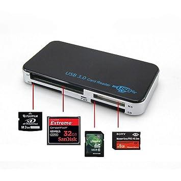 Lector de Tarjetas SD USB 3.0 portátil Lector de Tarjetas ...