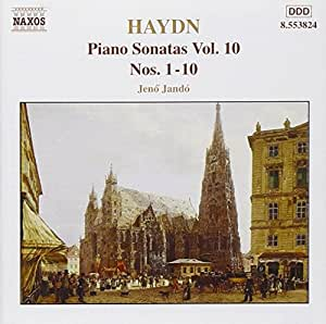 Piano Sonatas, Vol. 10, Nos. 1-10