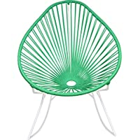 Innit Designs Junior Acapulco Rocker Chair | White/Mint