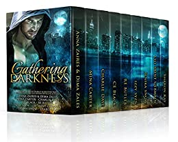 Gathering Darkness: A Paranormal Romance Collection by [Zaires, Anna, Zales, Dima, Black, C.E., Daye, Charlie, Szyn, Izzy, Germain, Lili Saint, Carter, Mina, Snow, Jenika, Butler, R.E., Kay, Sharon]