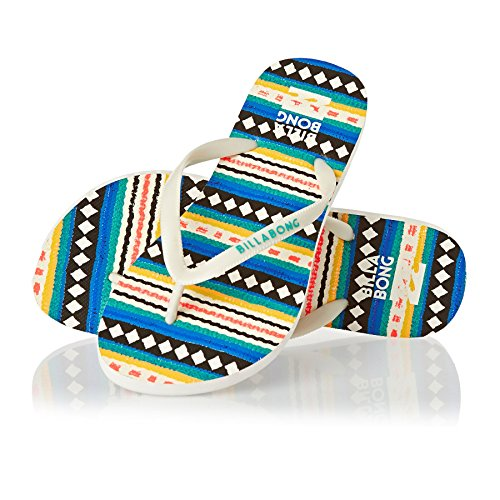 Billabong - Sandalias de dedo Unisex adulto Multicolor