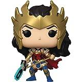 Funko Pop! Heroes DC Death Metal Wonder Woman 385 exclusivo px