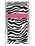 Sweet Jojo Designs Baby and Kids Funky Zebra Clothes Laundry Hamper