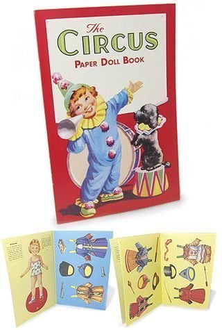 Circus Paper Doll Book Circus Paper Doll