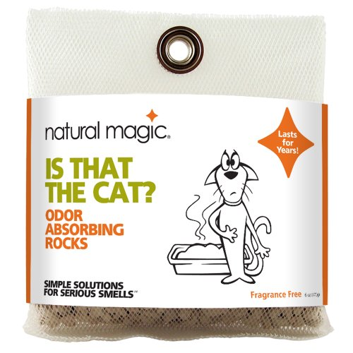 Natural Magic Is That The Cat? Odor Eliminator Rocks, 6 Ounce