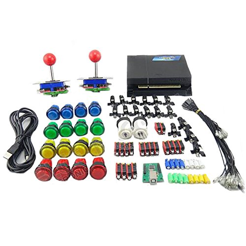 WINIT Game Machine Accessiries Pandora's box 3 520 in 1 Jamma Multi Game Board DIY Arcade buttons and Joystick Kits by Winit