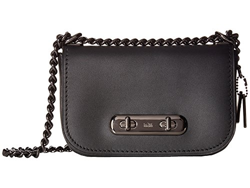 COACH Women's Coach Swagger Shoulder Bag 20 In Glovetanned Leather Dk/Black/Oxblood One Size by Coach