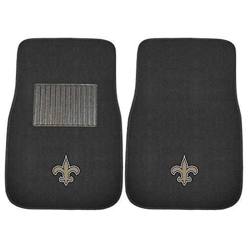 New Orleans Saints Car Mats - 2