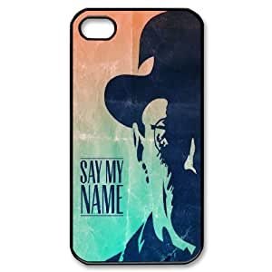 Poison king Heisenberg (Breaking Bad) poster phone Case Cove For Iphone 4 4S case cover JWH9231276