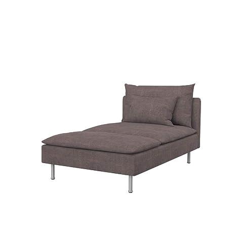 Soferia - Funda de Repuesto para IKEA SÖDERHAMN Chaise ...