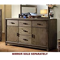 247SHOPATHOME Idf-7615D, dresser, Oak