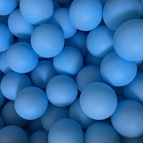 Yoran Beer Ping Pong Balls Assorted Color PP Table Tennis Ball Game playing Pet Ball 150pcs Blue