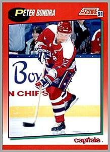 1991-92 Score Canadian English #216 Peter Bondra WASHINGTON CAPITALS